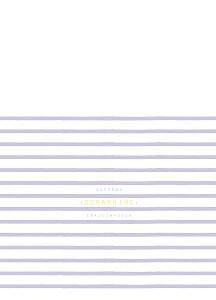Livret de messe violet marinière parme