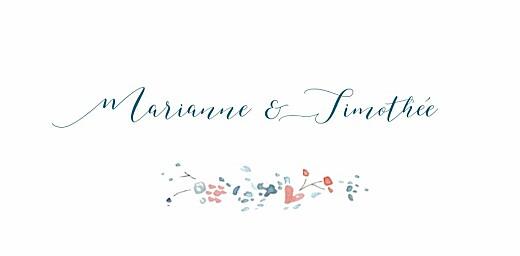 Marque-place mariage Journée de printemps (4 pages) blanc - Page 4