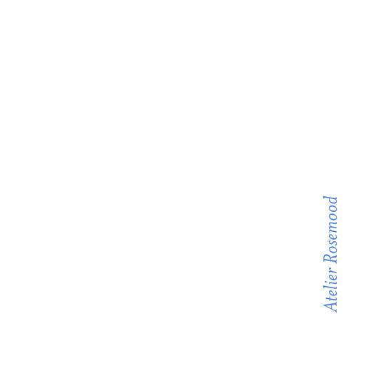 Etiquette perforée mariage Carré contemporain bleu - Page 2