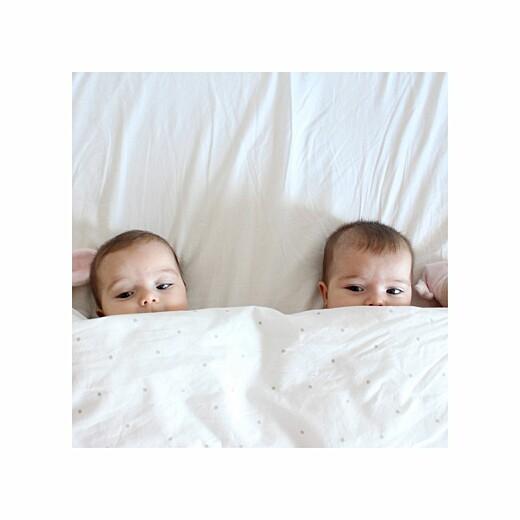Faire-part de naissance Lovely family twins (triptyque) fille et garcon - Page 4