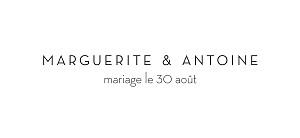 Etiquette de mariage Gravure chic bleu