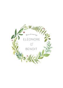 Sehr Livret de messe mariage Promesse champêtre - Atelier Rosemood CL68