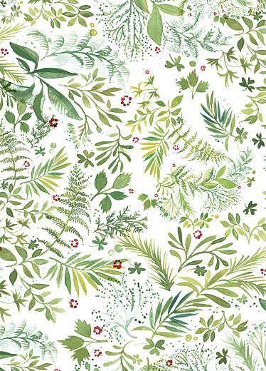 Livret de messe mariage Murmure de forêt vert - Page 2