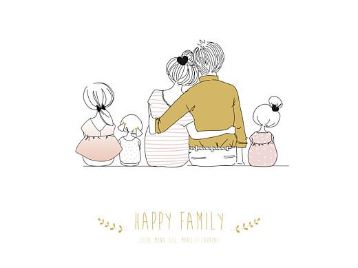 Affiche Lovely family 3 enfants filles - Page 1