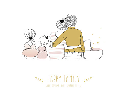 Affiche Lovely family 3 enfants (baby) filles - Page 1