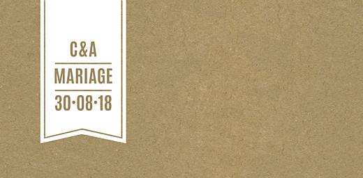 Marque-place mariage L'annonce kraft & bleu-violet - Page 4