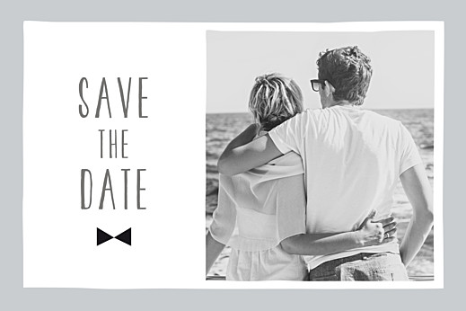 Save the Date Dandy gris