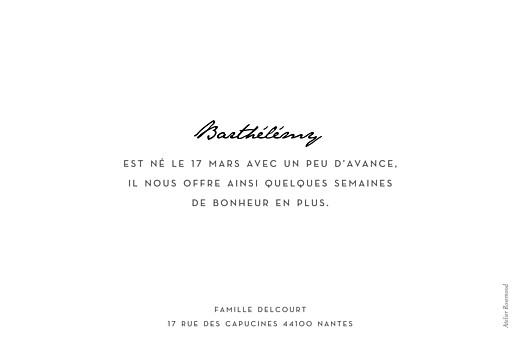 Faire-part de naissance Un joli mot paysage blanc - Page 2