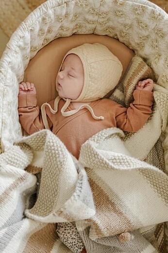 Faire-part de naissance Mon petit lapin photo bleu nuit