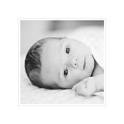 Faire-part de naissance Comptine 4 photos triptyque bleu page 4