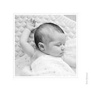 Faire-part de naissance Comptine 4 photos triptyque bleu page 6
