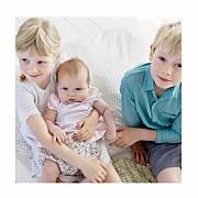 Faire-part de naissance Lovely family 2 enfants 3photos fille frère page 4