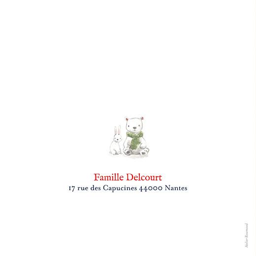Faire-part de naissance Conte polaire photo bleu - Page 4