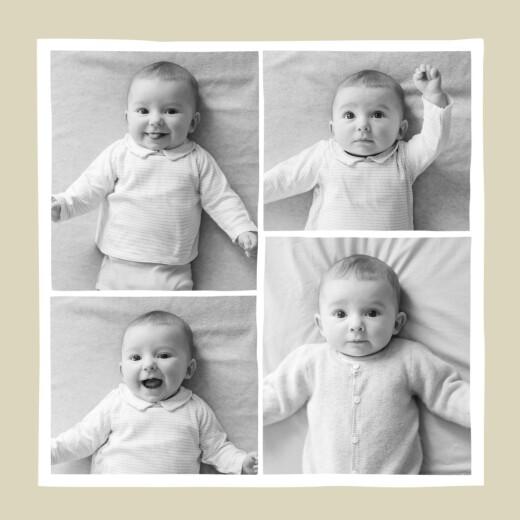 Faire-part de naissance Renard beige & orange - Page 2