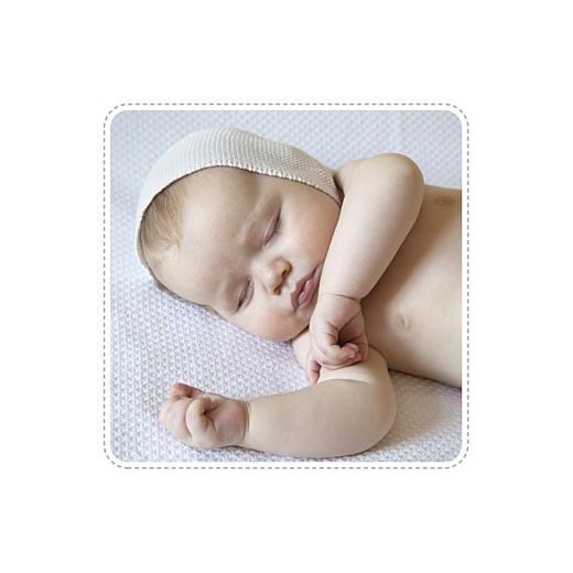 Faire-part de naissance Ruban étoilé 2 photos (dorure) gris - Page 2