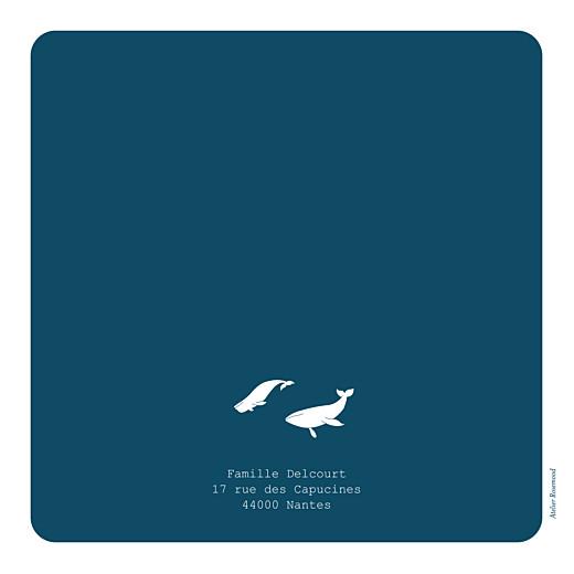 Faire-part de naissance Baleine extraordinaire bleu - Page 4
