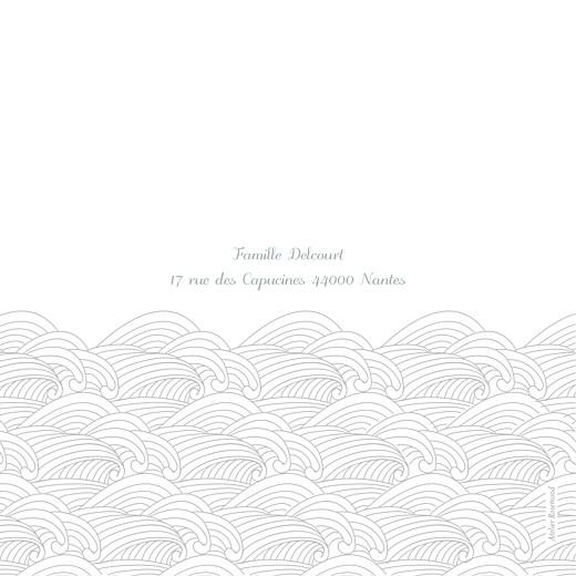 Faire-part de naissance Baleines en voyage 3 photos blanc - Page 4