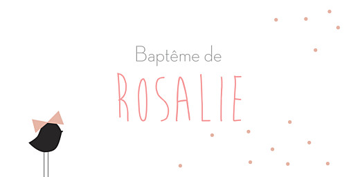 Marque-place Baptême Lovely kid rose - Page 4