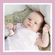 Faire-part de naissance Petite coquette (triptyque) rose page 5