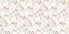 Marque-place Baptême Liberty origami étoiles rose - Page 2