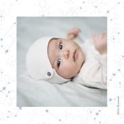 Faire-part de naissance Univers 4 photos (triptyque) bleu page 6