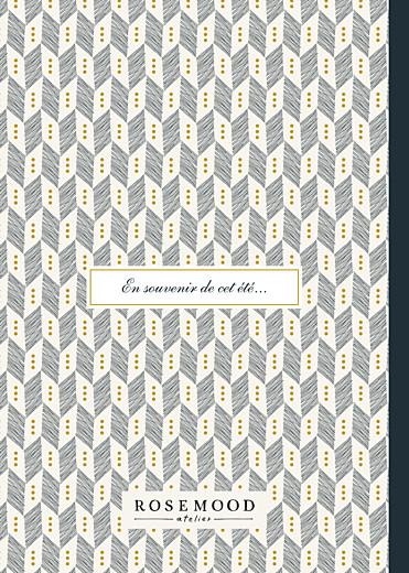 Carnet personnalisé Cravate bleu