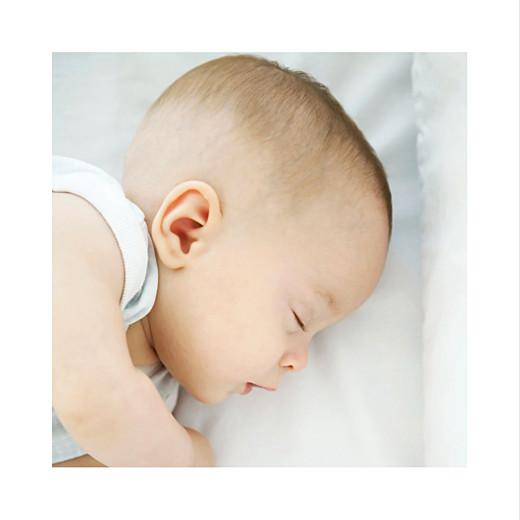 Faire-part de naissance Petit minois garçon photo blond