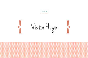 Marque-table mariage rouge accolades corail