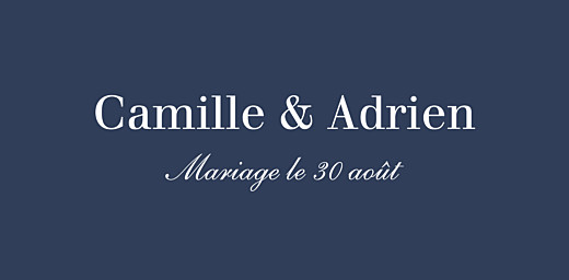 Marque-place mariage Marin bleu - Page 4