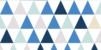 Marque-place Baptême Triangles bleu foncé - Page 2
