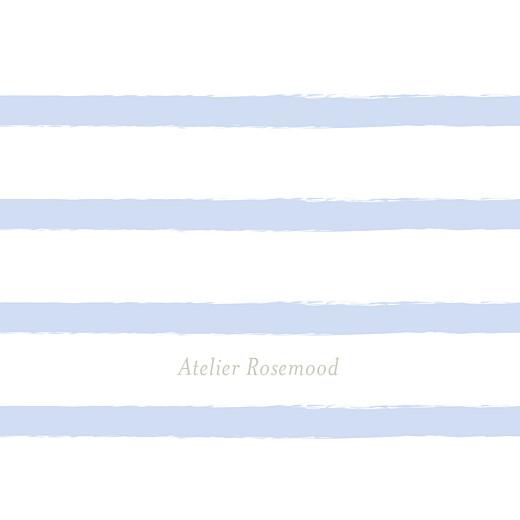Etiquette de baptême Marinière bleu - Page 2