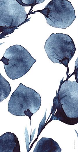 Menu de mariage Ombres florales (4 pages) bleu - Page 4