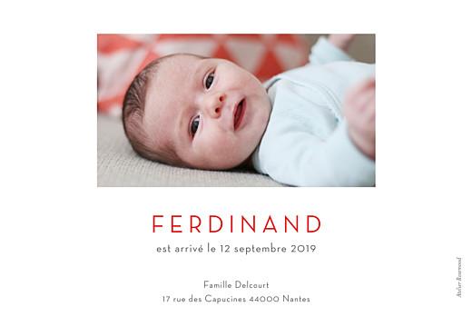 Faire-part de naissance Terrazzo rv photo foncé - Page 2