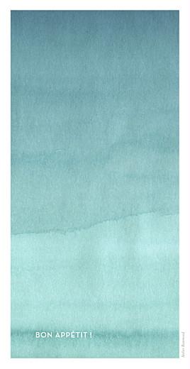 Menu de mariage Aquarelle (4 pages) bleu - Page 4