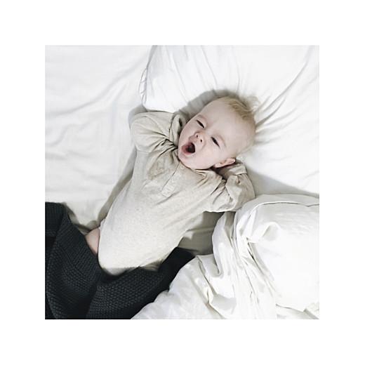 Faire-part de naissance Émoi émoi (dorure) blanc