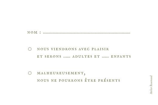 Carton réponse mariage Provence olive - Page 2