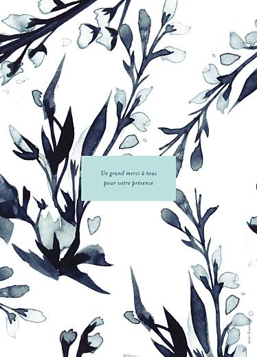 Livret de messe mariage Bleu de minuit bleu - Page 4