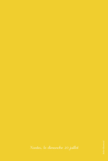 Menu de baptême Citrons jaune - Page 4