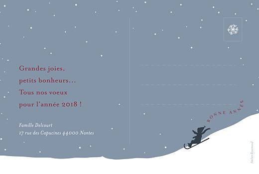 Carte de voeux Vent d'hiver (3 photos) bleu - Page 2
