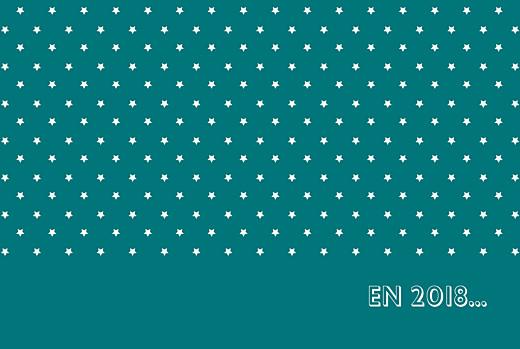 Carte de voeux Étoiles classique photo canard