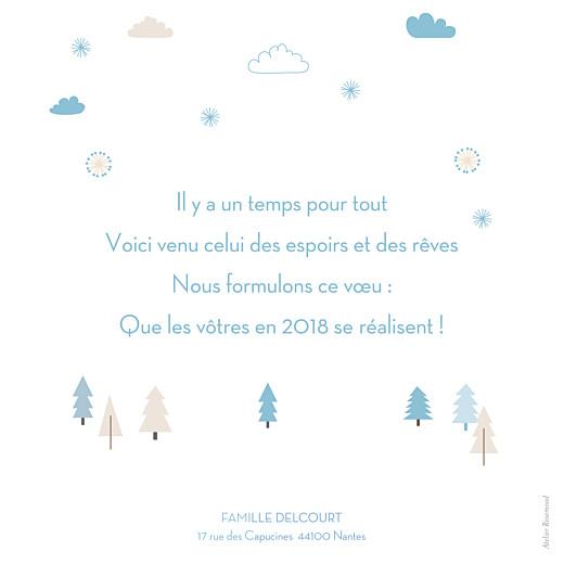 Carte de voeux Winter forest bleu - Page 2