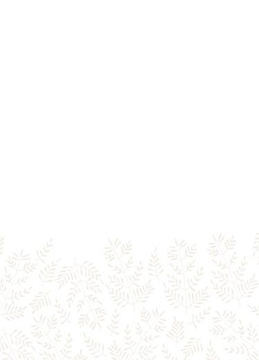 Livret de messe mariage Mille fougères beige - Page 3