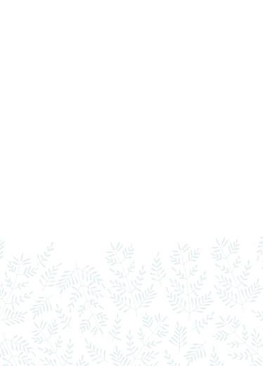 Livret de messe mariage Mille fougères bleu - Page 3