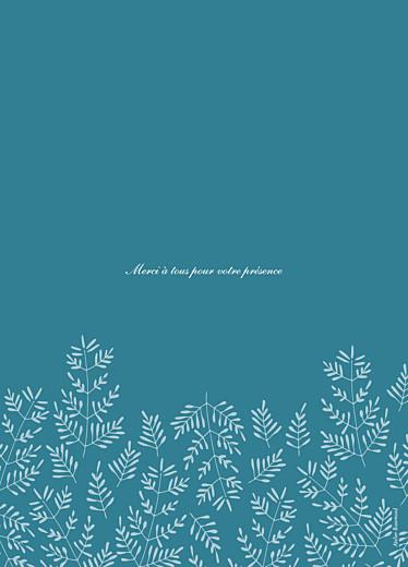 Livret de messe mariage Mille fougères bleu - Page 4