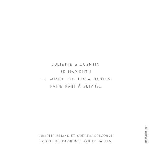 Save the Date Élégant (dorure) blanc - Page 2