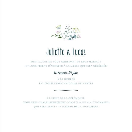 Faire-part de mariage Bouquet sauvage rose - Page 3