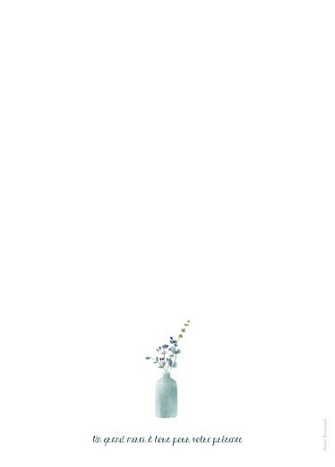 Livret de messe mariage Bouquet sauvage rose - Page 4