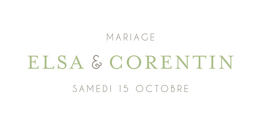 Marque-place mariage Jardin anglais vert - Page 4