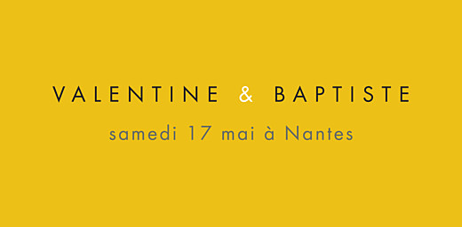 Marque-place mariage Palermo blanc & jaune - Page 4