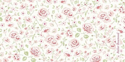 Marque-place Baptême Couronne de roses blanc - Page 3